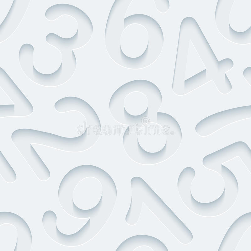 White perforated paper. stock photos
