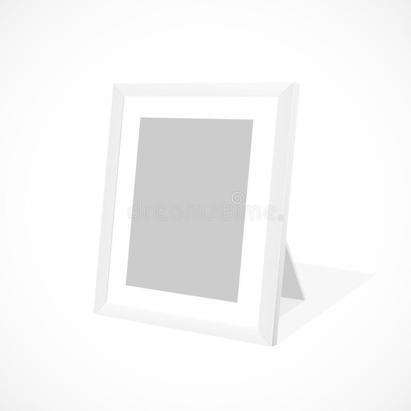 Download White photo frame stock vector. Illustration of design - 24871650