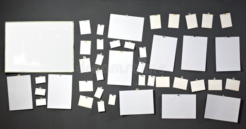 White photo paper royalty free stock photo