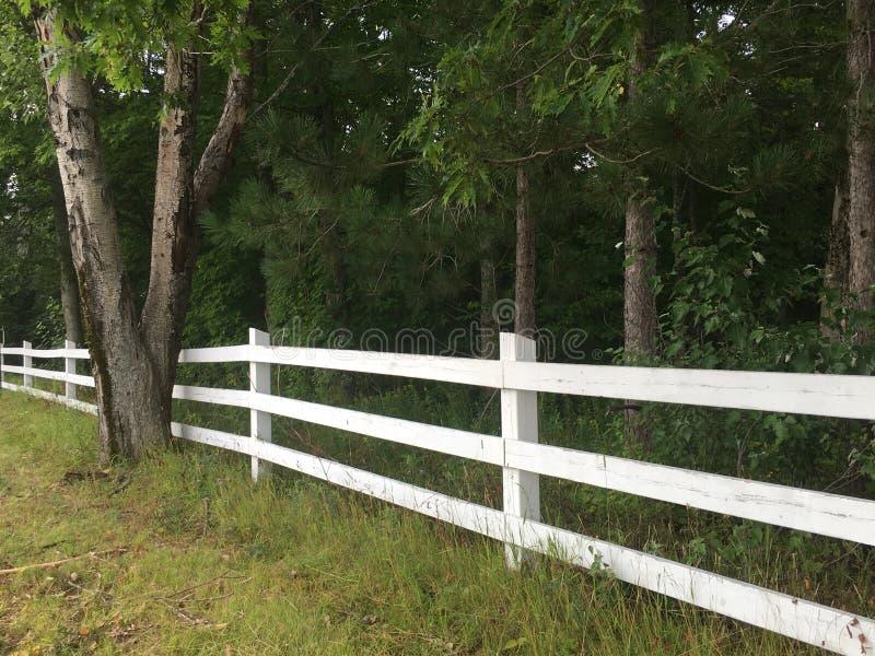 White Picket Fence stock photos
