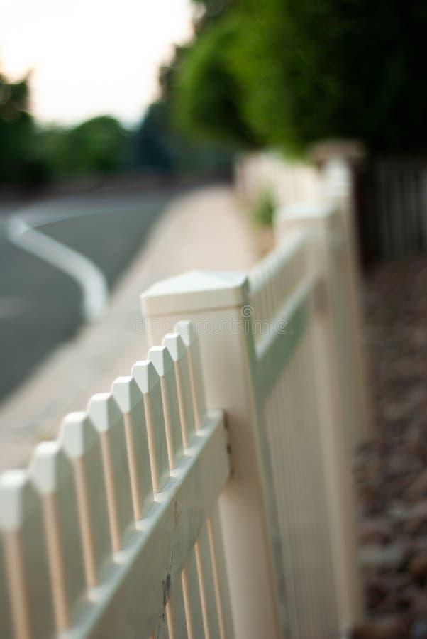 Free White Picket Fence Stock Photo - 123662010