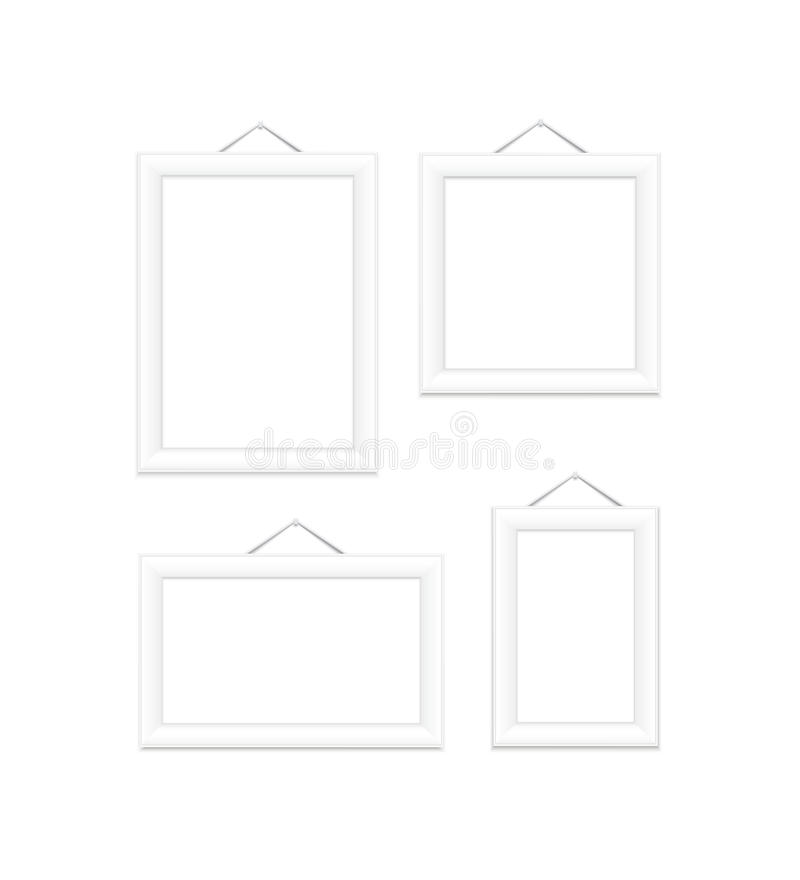 Download White Picture Frames. Royalty Free Stock Images - Image: 32089539