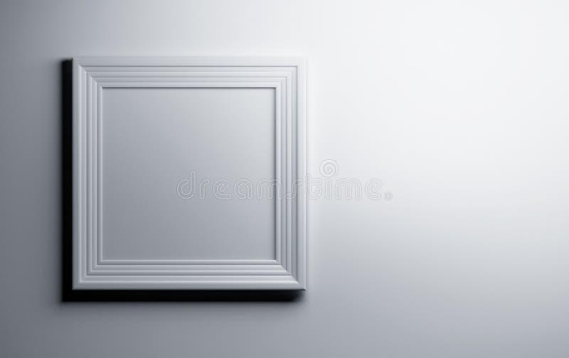 White picture photo frame vector illustration