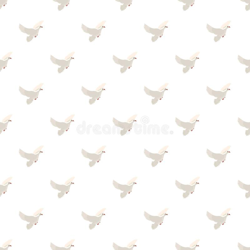 Free White Pigeon Pattern Stock Images - 98320774