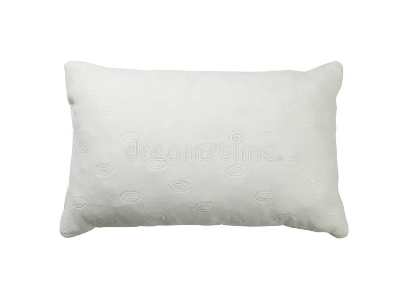 White Pillow Royalty Free Stock Photo