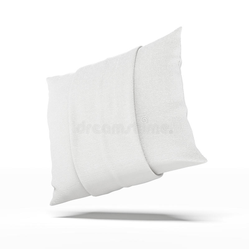 Download White Pillow stock illustration. Illustration of feather - 32318620