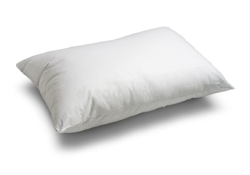 White pillow isolated stock images