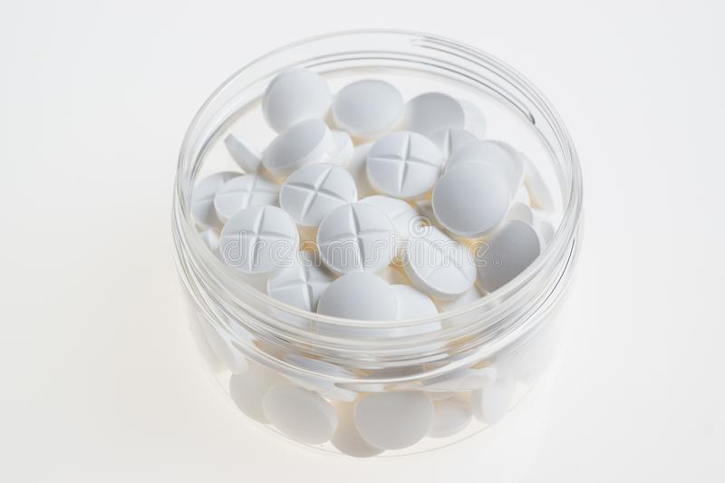 White Pills In Cup Free Public Domain Cc0 Image