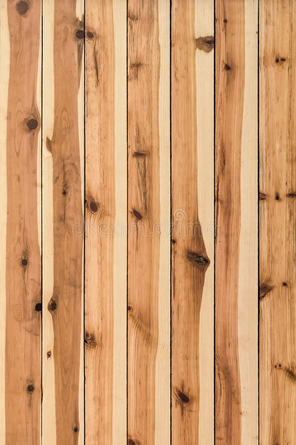 White Pine Knotted Planks Hut Wall Surface - Detail. Photograph of White Pine planks hut wall surface texture, with wood knots and joint grooves - detail royalty free stock photos
