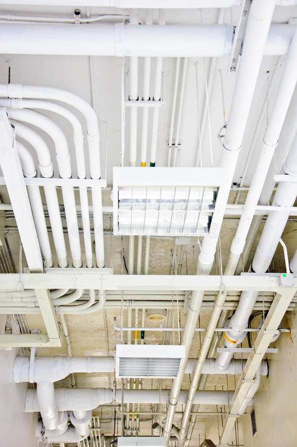 Download White pipe system stock image. Image of pipe, engineering - 21480897
