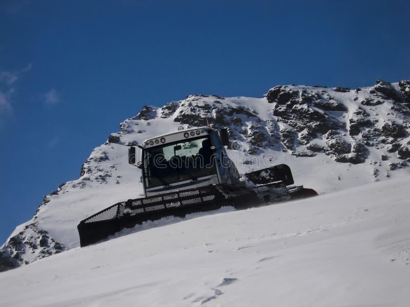 Download White piste basher stock photo. Image of seasonal, preparation - 39694190