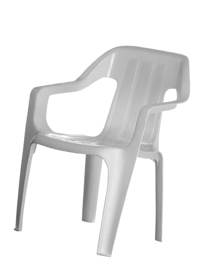 Free White Plastic Chair Stock Photography - 16802942