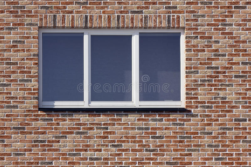 Download White Plastic Window And Red  Brick Wall Stock Photo - Image: 23365448