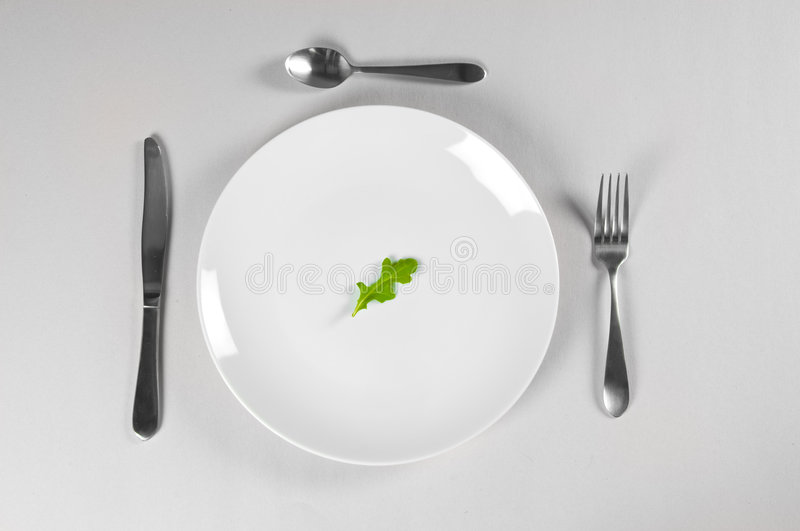 Download White Plate and Diet stock image. Image of health, utensil - 8211171