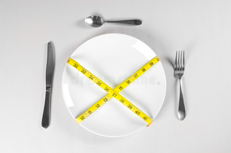 Download White Plate and Diet stock image. Image of diet, lack - 8293341