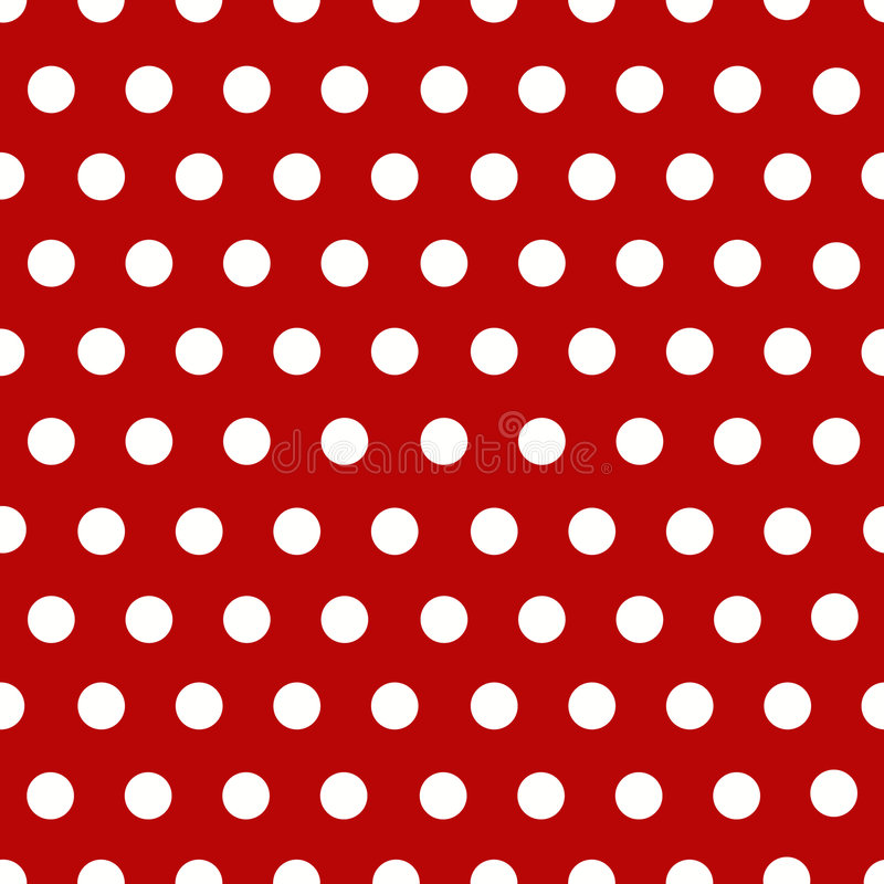 Download White polka dots with red stock illustration. Illustration of confuse - 7237553