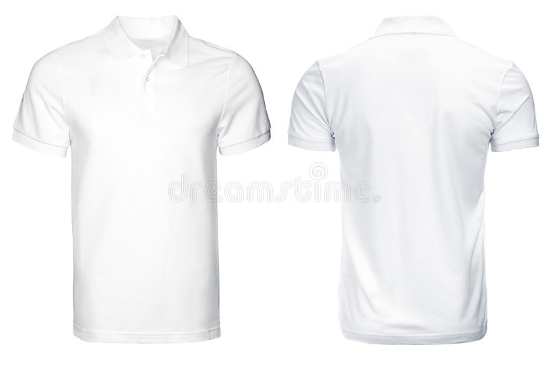 White Polo shirt, clothes royalty free stock image