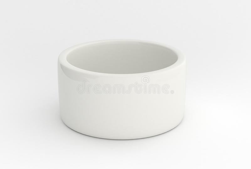 Download White porcelain pot stock image. Image of angle, isolated - 18070593