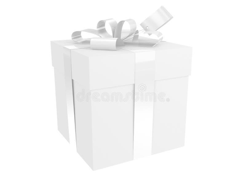 White present pack stock photos