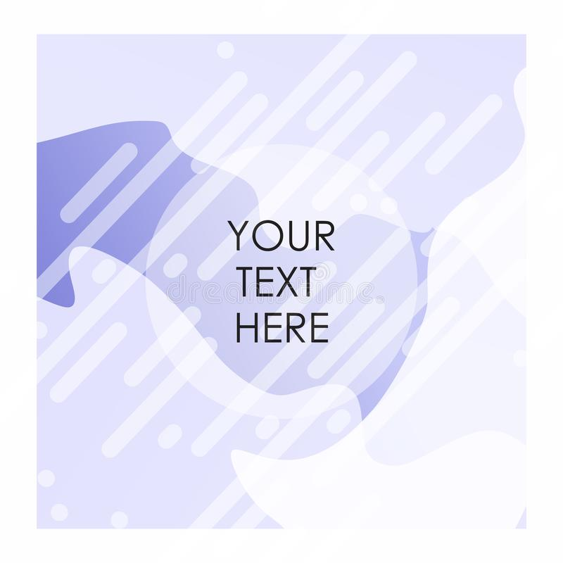 White and purple color bakcground with typogrpahy vector. This Vector EPS 10 illustration is best for print media, web design, application design user royalty free illustration