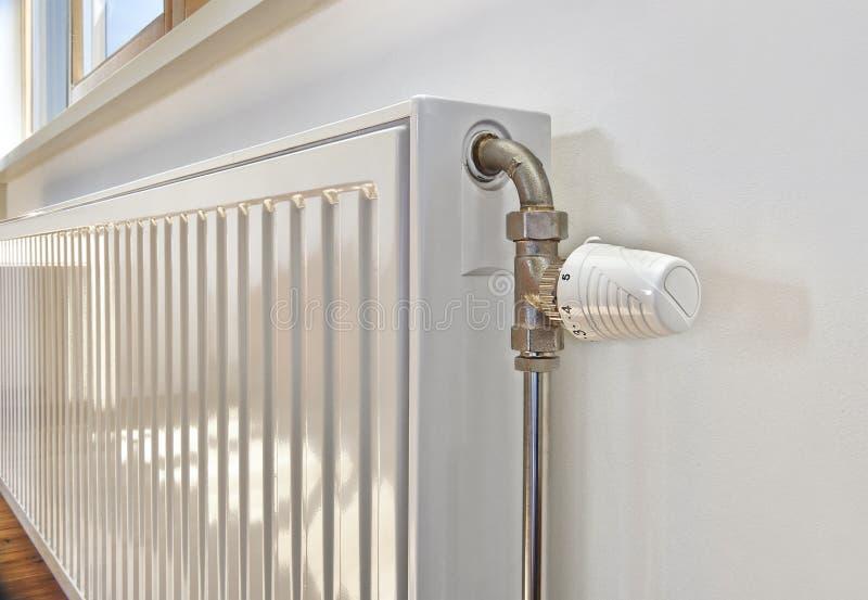 White radiator royalty free stock photography