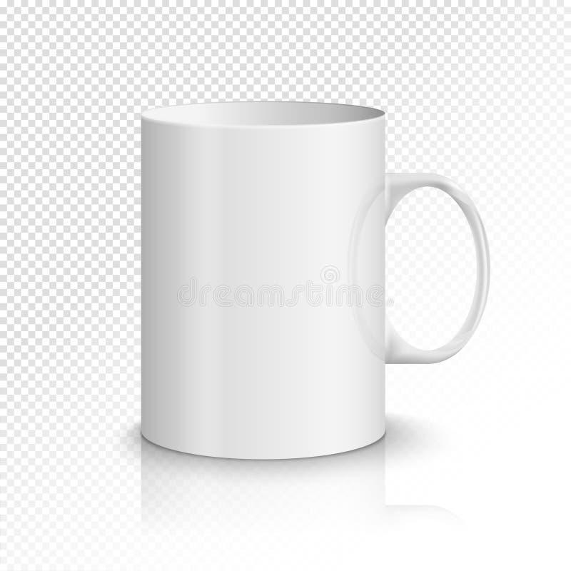 Blank Ceramic Mug . Illustration Stock Illustration