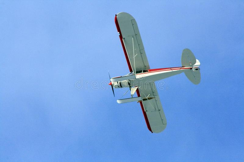 White And Red Airplane Under Blue Sky During Daytime Free Public Domain Cc0 Image