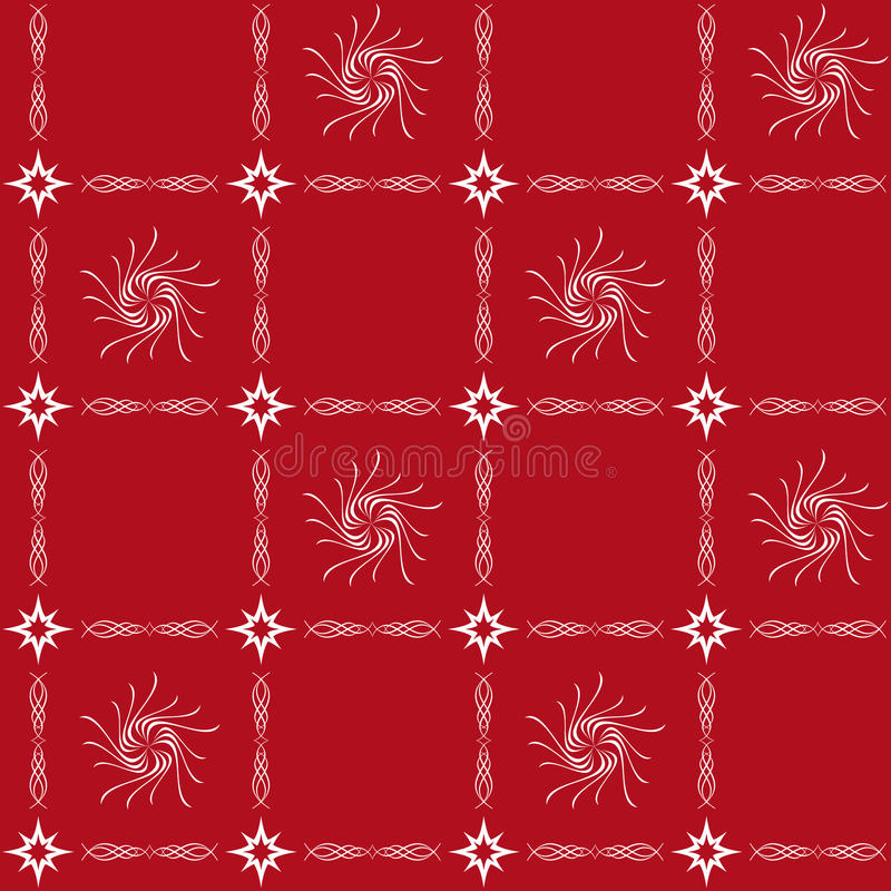 Download White And Red Seamless Tracery - Vector Stock Vector - Image: 16147217