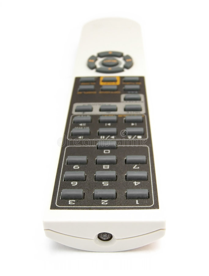 Download White Remote 02 Royalty Free Stock Photography - Image: 187537
