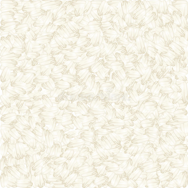 Download White Rice Vector Background Stock Vector - Illustration of background, heap: 28793396