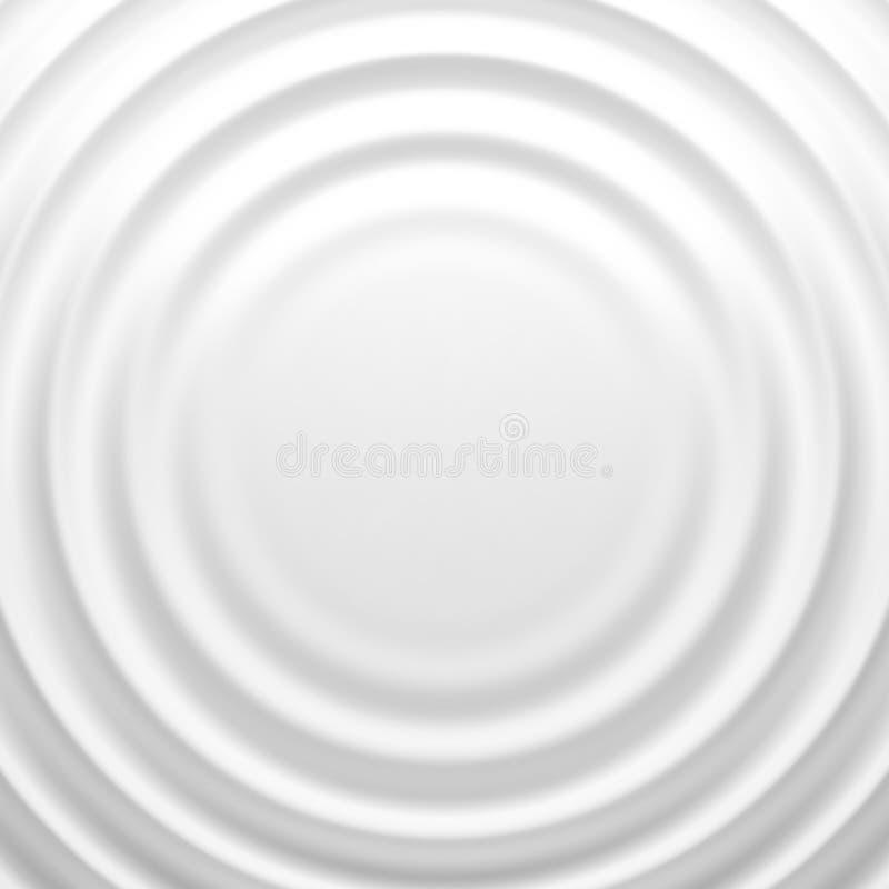 White rippled background. Vector illustration EPS 10 vector illustration