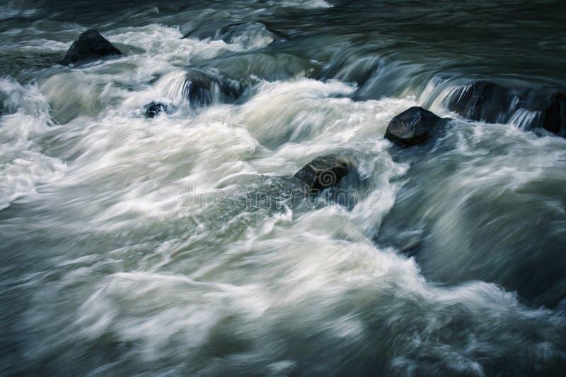 White River com pedras imagens de stock royalty free