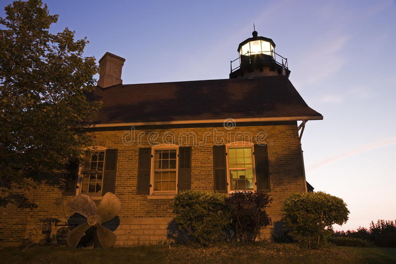 White River Lighthouse. Michigan, USA stock images