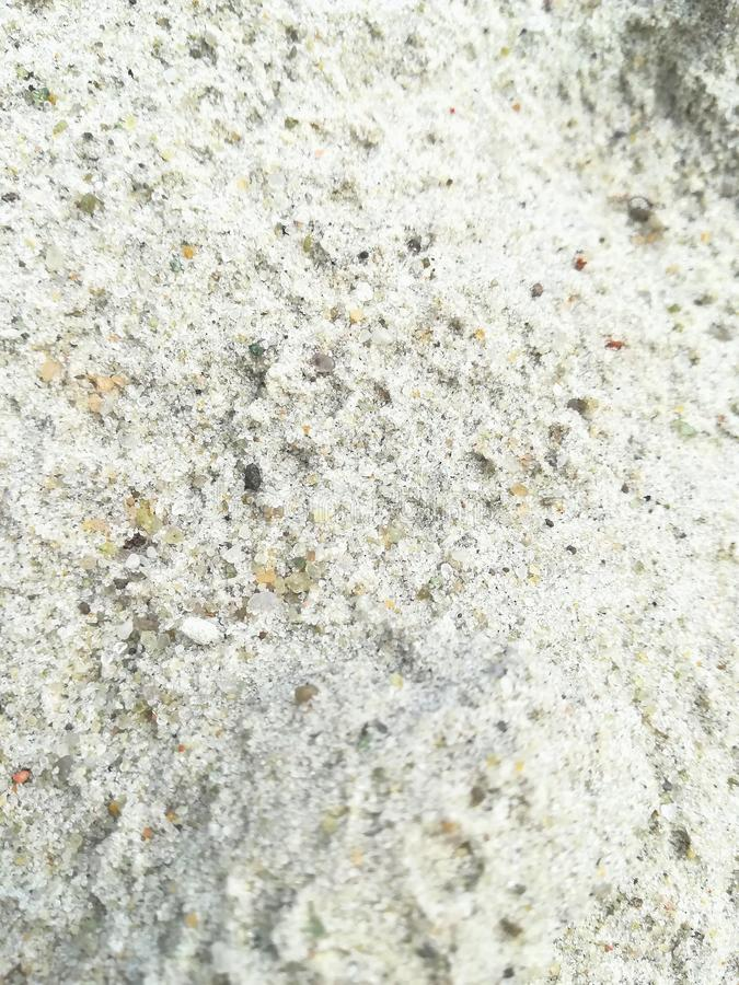 White sand texture background pattern beach summer material coating royalty free stock photography