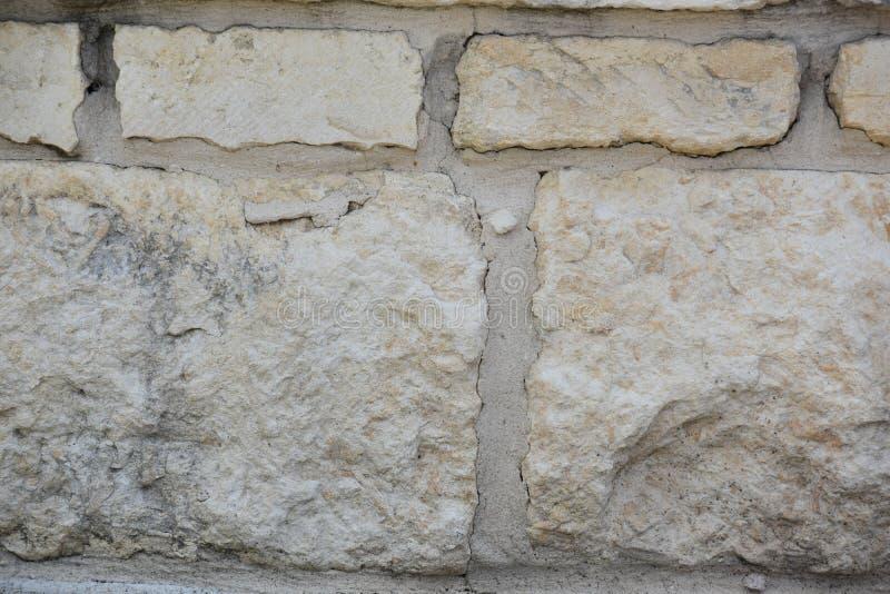 White Rock Brick Backdrop stock photography