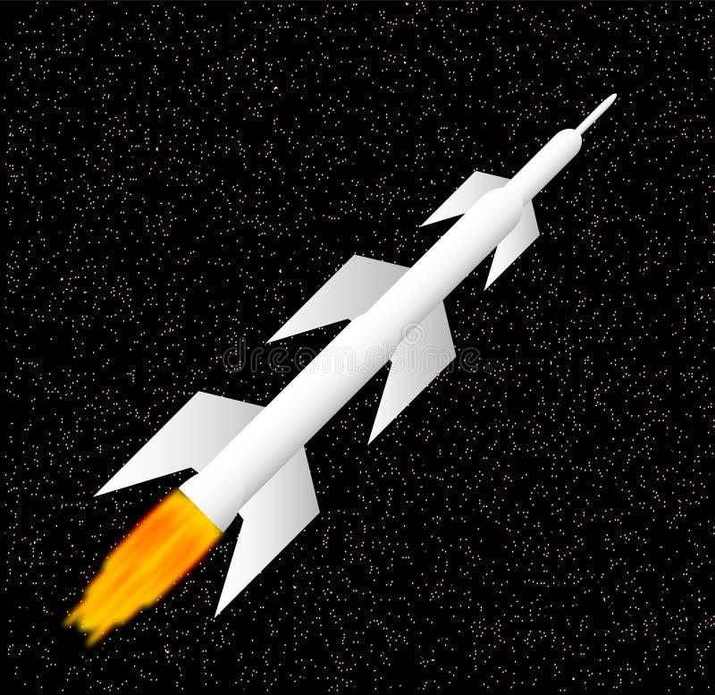 Download White Rocket Stock Image - Image: 20529651