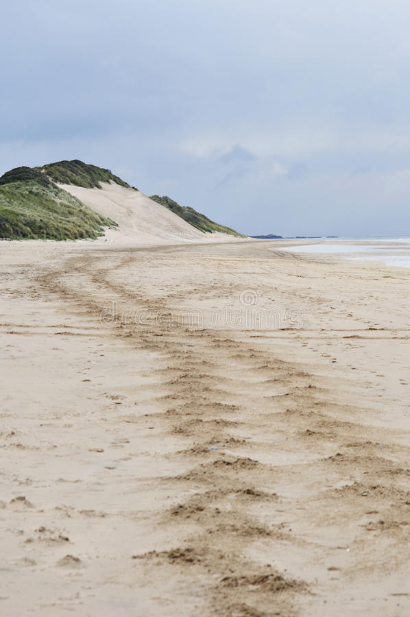 White Rocks Beach, Portrush, Northern Ireland stock photos