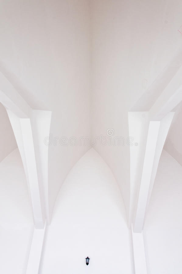 Download White  roof stock photo. Image of modern, design, indoor - 25207032