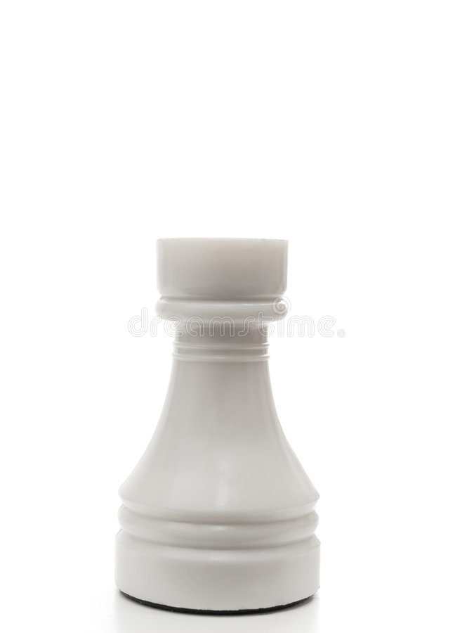 Free White Rook Royalty Free Stock Photography - 7402517