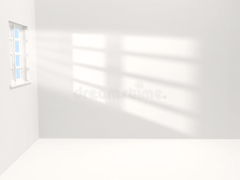 Download White room stock illustration. Image of sunshine, bare - 13539756