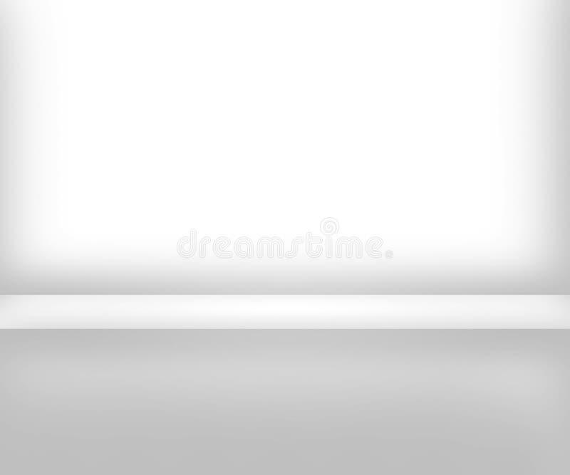 White Room Interior Background stock illustration