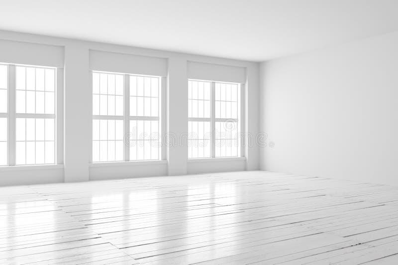 White room interior mock up royalty free stock photos