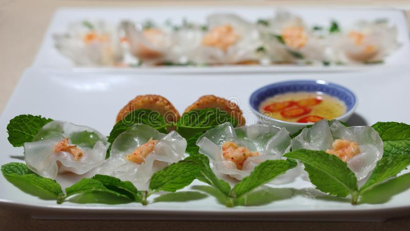 White Rose Dumplings royalty-vrije stock afbeeldingen