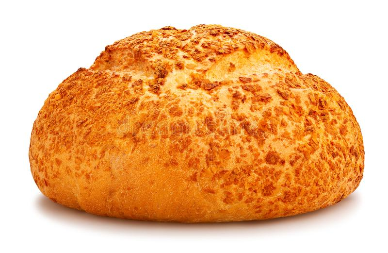 White round bread royalty free stock images