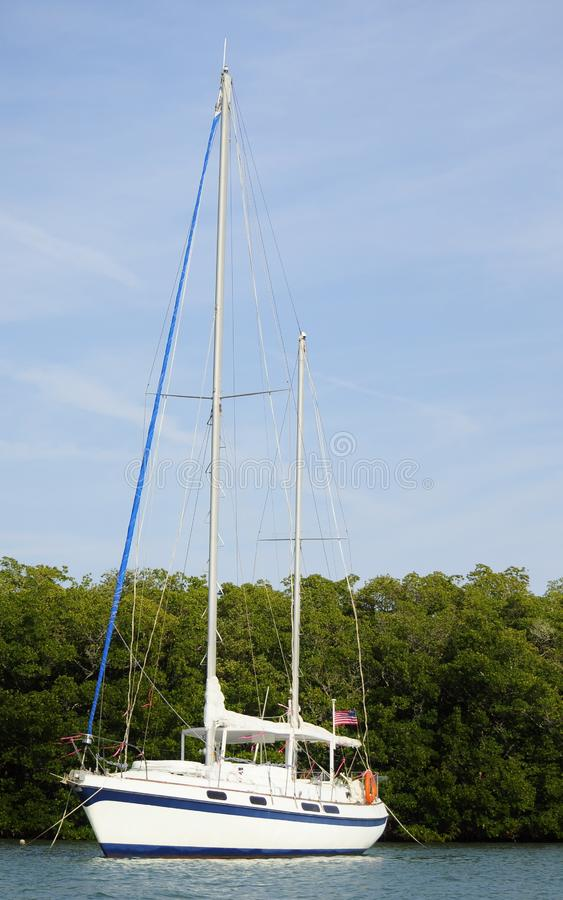 Download White sailboat stock photo. Image of sailboat, marine - 23536448