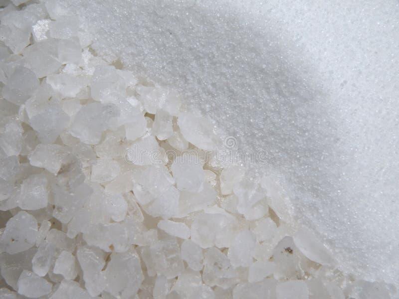 White salt royalty free stock images