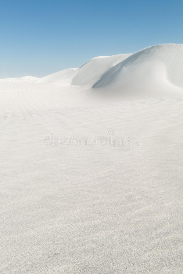 Download White Sand Dunes Stock Photography - Image: 24578212