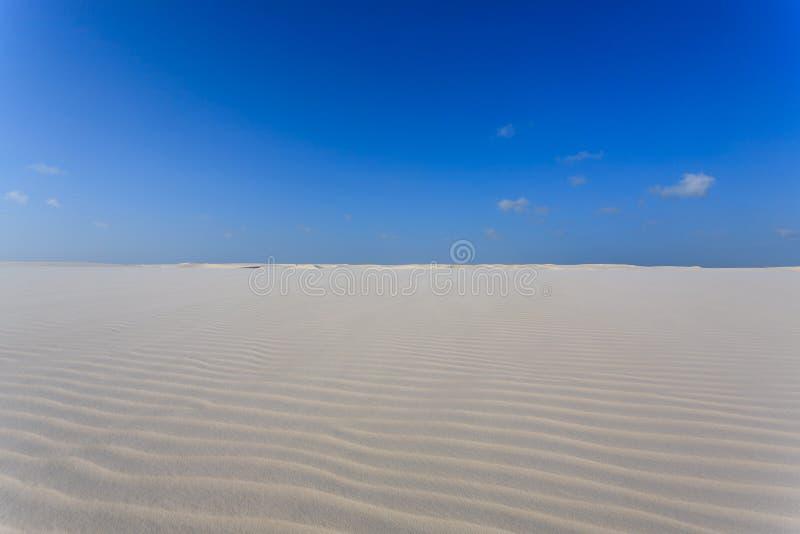 Download White Sand Dunes Panorama From Lencois Maranhenses National Park Stock Image - Image: 83710973