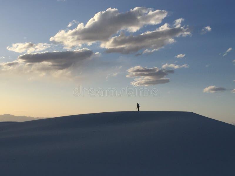 White Sand Dunes royalty free stock image