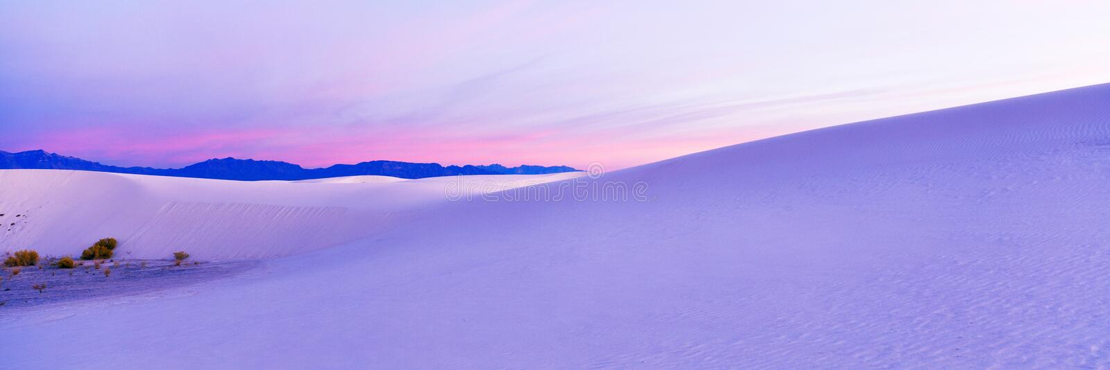 White Sands Stock Photos